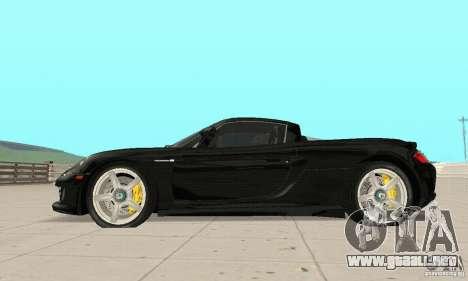 Porsche Carrera GT stock para GTA San Andreas left