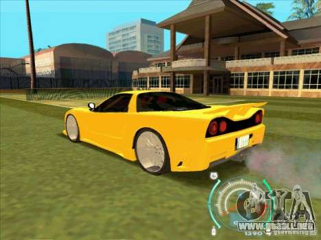 Honda NSX VeilSide from FnF 3 para GTA San Andreas left