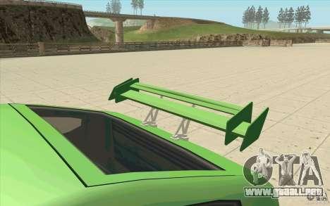 Mad Drivers New Tuning Parts para GTA San Andreas undécima de pantalla