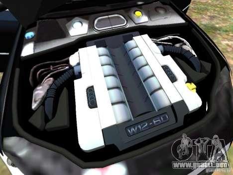 Audi A8L W12 para GTA 4 interior