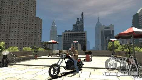 The Lost and Damned Bikes Diabolus para GTA 4 left