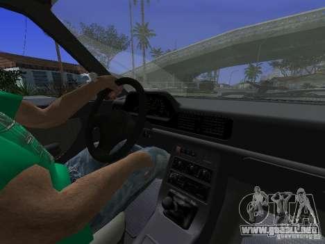 Daewoo FSO Polonez Kombi 1.6 2000 para GTA San Andreas vista hacia atrás