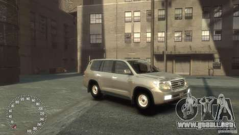 Toyota Land Cruiser 200 2010 para GTA 4 left