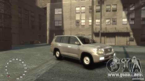 Toyota Land Cruiser 200 2010 para GTA 4 left