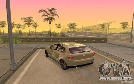 Volkswagen Gol G6 para GTA San Andreas left