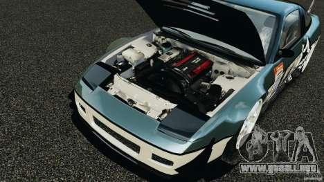 Nissan 240SX Time Attack para GTA 4 vista interior
