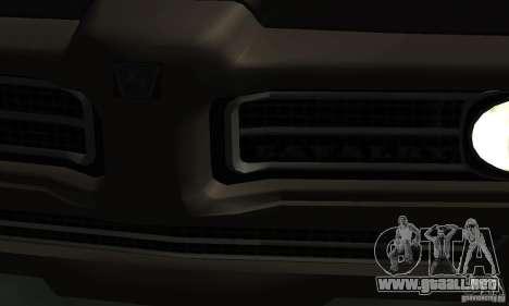 Cazador de caballería de Burnout Paradise para la visión correcta GTA San Andreas
