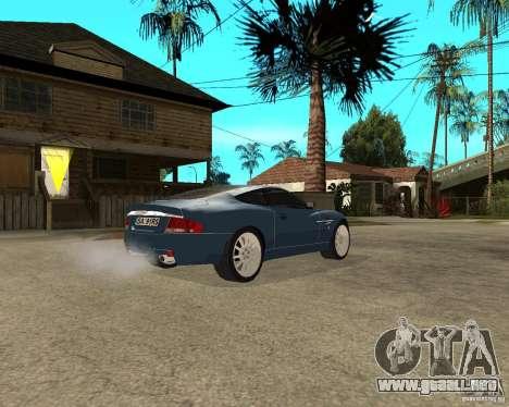 Aston Martin Vanquish para la visión correcta GTA San Andreas
