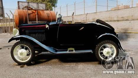 Ford Model T Sabre 1924 para GTA 4 left
