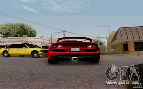 Lotus Exige S V1.0 2012 para la visión correcta GTA San Andreas