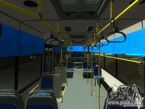 NEFAZ 5299 10-32 para visión interna GTA San Andreas