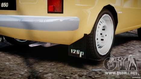 Fiat 126p 1976 para GTA 4 vista desde abajo