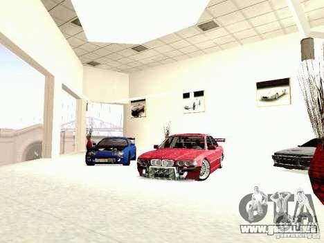 BMW 740i Tuned For Drift para la visión correcta GTA San Andreas