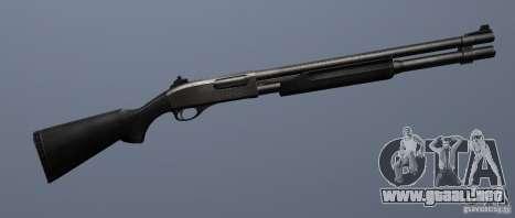Remington 870 Marine para GTA San Andreas sucesivamente de pantalla