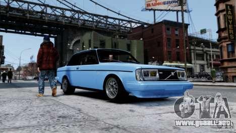 Volvo 242 v2 para GTA 4 left