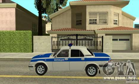 GAZ 31105 Volga DPS para GTA San Andreas left