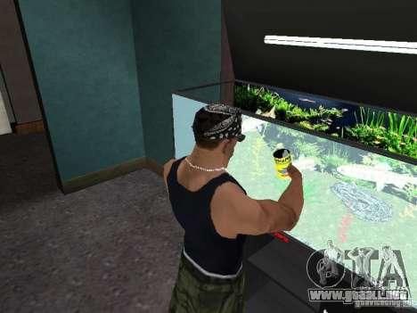 Acuario para GTA San Andreas quinta pantalla