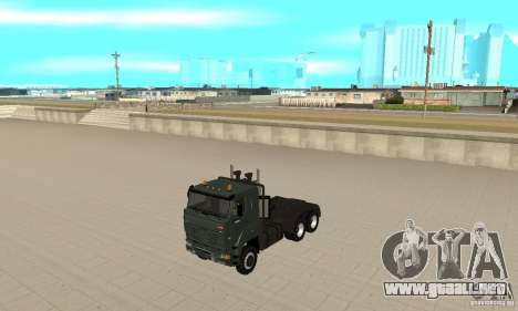 KAMAZ 65226 Tai v1.1 para GTA San Andreas left