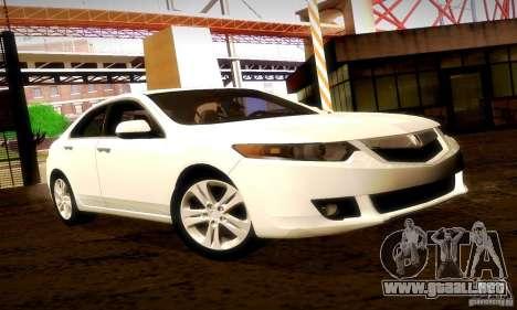 Acura TSX V6 para GTA San Andreas