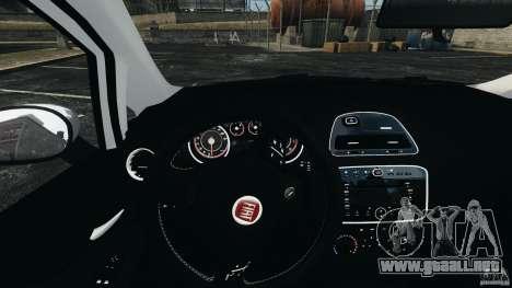 Fiat Punto Evo Sport 2012 v1.0 [RIV] para GTA 4 ruedas