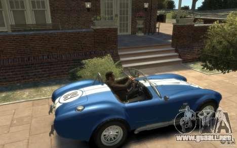 Shelby Cobra 427 SC 1965 para GTA 4 visión correcta
