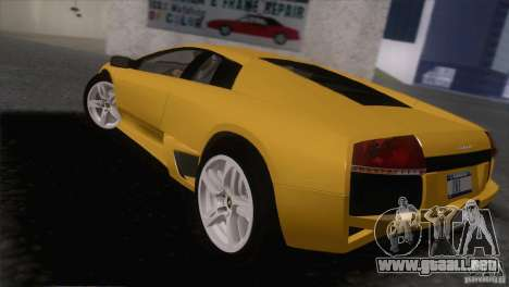 Lamborghini Murcielago LP640 2006 V1.0 para GTA San Andreas left