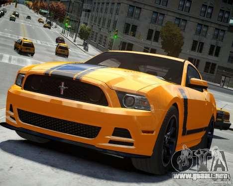 Ford Mustang Boss para GTA 4