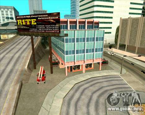 Priparkovanyj transporte v 3,0-Final para GTA San Andreas novena de pantalla