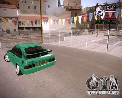 Ford Sierra Drift para la visión correcta GTA San Andreas