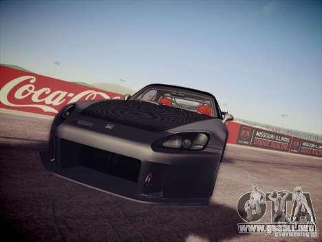 Honda S2000 JDM Dirft para la visión correcta GTA San Andreas
