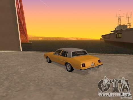Oldsmobile Cutlass v2 1985 para GTA San Andreas left