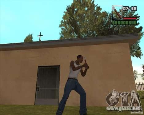 Abrelatas para GTA San Andreas segunda pantalla