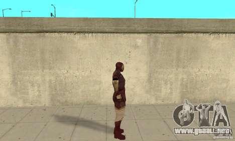 Ironman Mod para GTA San Andreas segunda pantalla