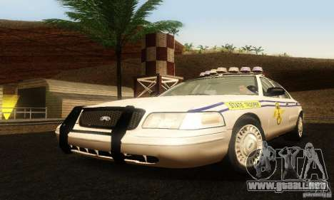 Ford Crown Victoria South Carolina Police para GTA San Andreas