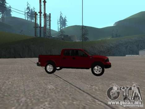 Ford F-150 2005 para GTA San Andreas left