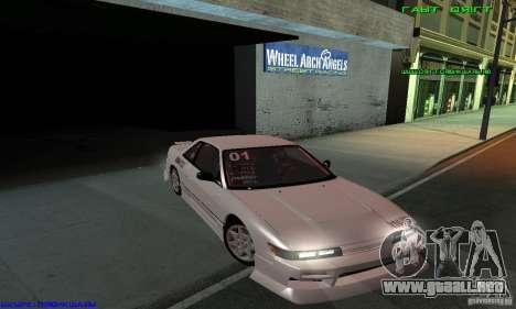 Nissan Silvia S13 Tunable para las ruedas de GTA San Andreas