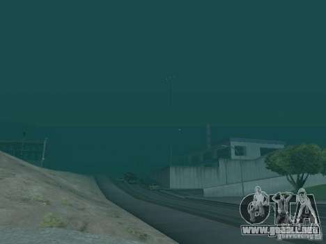 Weather manager para GTA San Andreas tercera pantalla