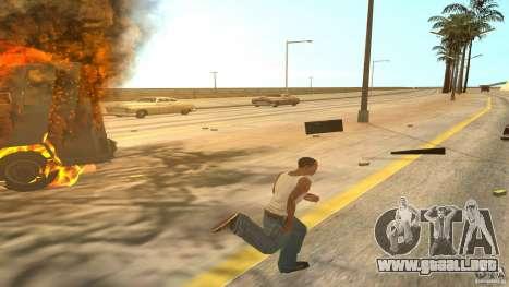 Bono coleccionistas v1.2 para GTA San Andreas sucesivamente de pantalla
