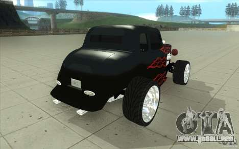 Ford Hot Rod 1934 v2 para vista lateral GTA San Andreas