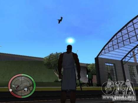 La gente de lluvia para GTA San Andreas sucesivamente de pantalla
