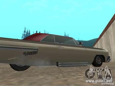 Vudú de GTA 4 para GTA San Andreas vista posterior izquierda
