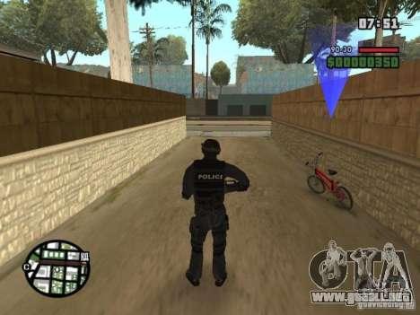 Comando de los SWAT 4 para GTA San Andreas segunda pantalla