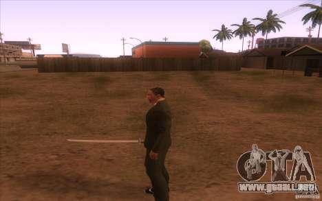 Katana para GTA San Andreas tercera pantalla