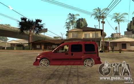 Renault Kangoo Tuning para GTA San Andreas left