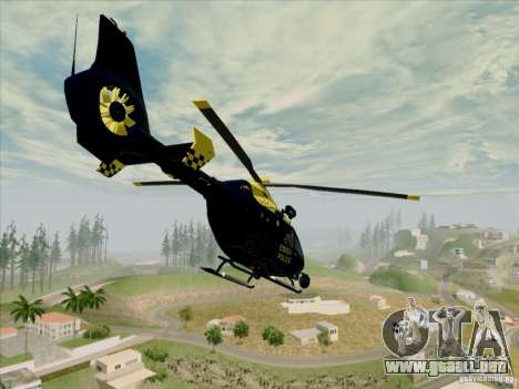 Eurocopter EC-135 Essex para GTA San Andreas left