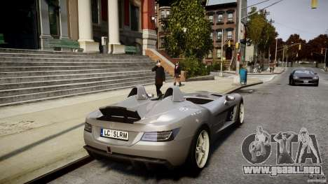 Mercedes-Benz SLR McLaren Stirling Moss [EPM] para GTA 4 interior