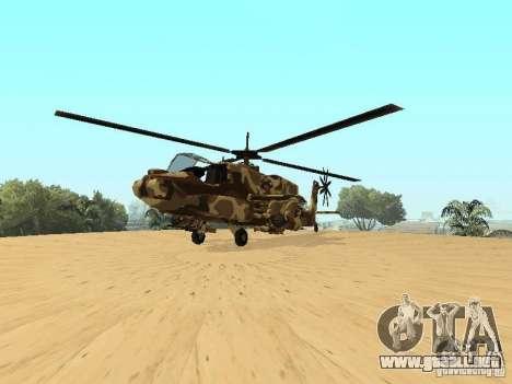 Nuevas texturas para el cazador para la visión correcta GTA San Andreas