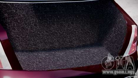 Maserati Quattroporte V para GTA 4 vista superior
