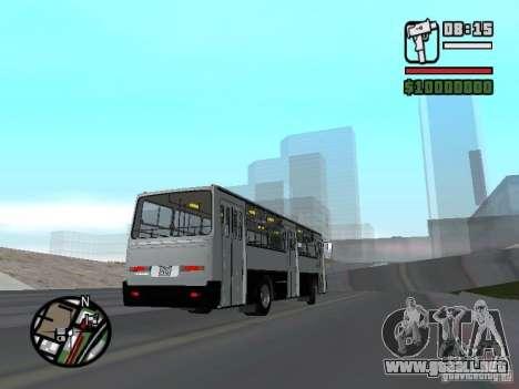 Ikarus 260.06 para la visión correcta GTA San Andreas