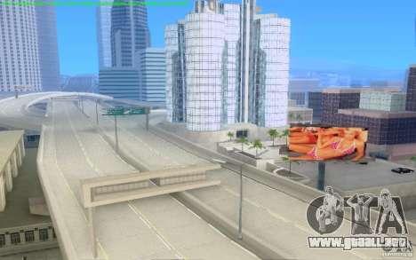 Caminos concretos de Los Santos Beta para GTA San Andreas séptima pantalla
